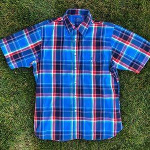 Vintage Pendleton Country Casual SS Plaid Shirt L